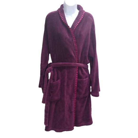 Capelli of New York Other - Capelli New York Robe Plush Soft Pockets Purple XL